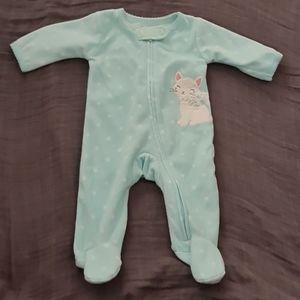 Carter's Newborn Fleece Sleep and Play